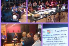 Construção coletiva da Feira de Talentos das Promotoras Populares de Defesa Comunitária é iniciada em encontro formativo