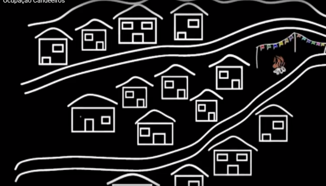 Moradores da Ocupação Candeeiros reivindicam o direito à moradia digna